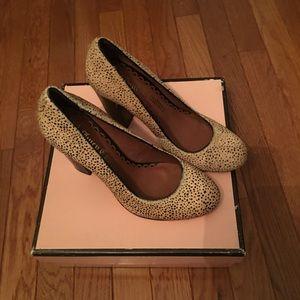 Juicy Couture Animal Print Heels